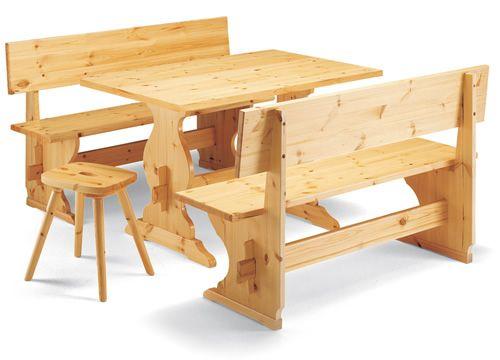 panca pizzeria pour bars et restaurants banc en bois avec dossier sediarreda. Black Bedroom Furniture Sets. Home Design Ideas
