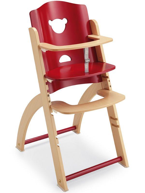 pappy re chaise haute pali en bois aussi avec plateau disponible en diff rentes couleurs. Black Bedroom Furniture Sets. Home Design Ideas