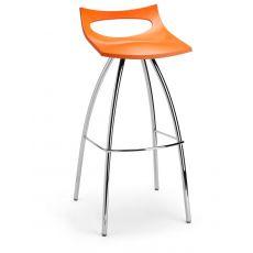 Diablito S 2291 - Sgabello in metallo e polipropilene, seduta a 65 cm o 80 cm