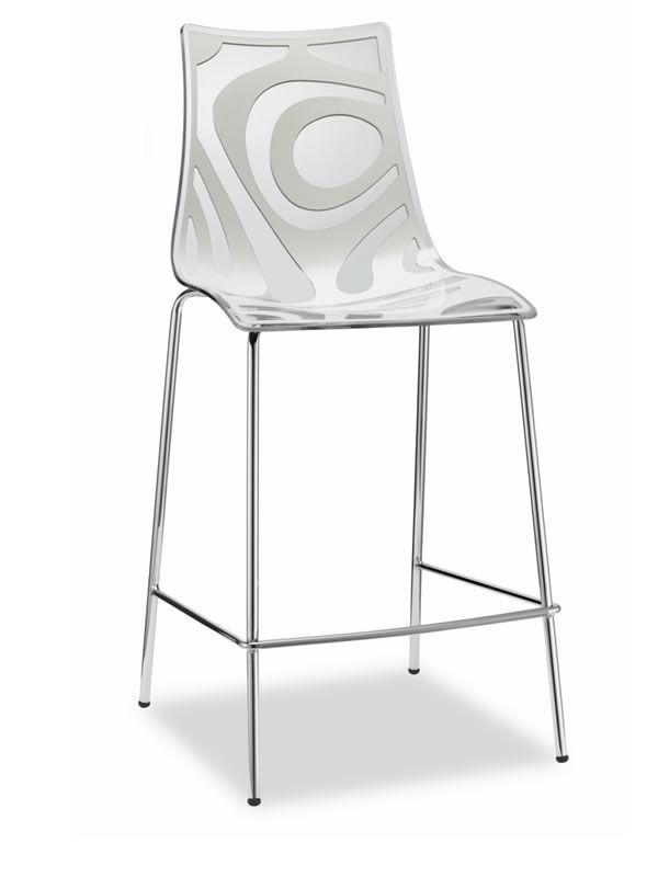 wave s 2541 barhocker aus metall und technopolymer. Black Bedroom Furniture Sets. Home Design Ideas