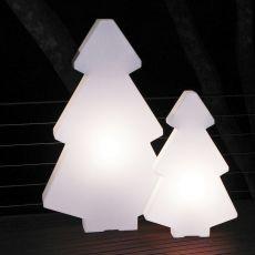 Lightree - Lampada da terra Slide in polietilene, diversi colori e misure, anche per giardino