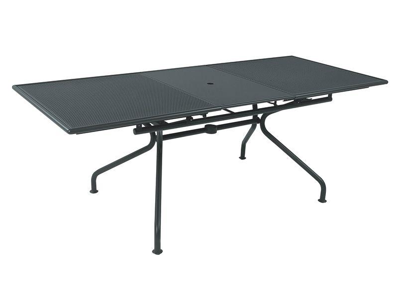 piano table emu en m tal plan de travail 160 x 90 cm ou 200 x 100 cm allongeable sediarreda. Black Bedroom Furniture Sets. Home Design Ideas