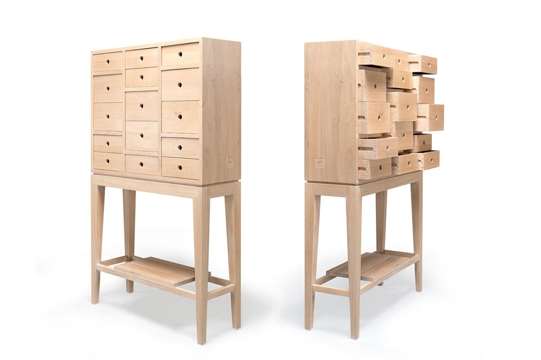 Contador - Credenza con cassetti in legno massello, disponibile in ...