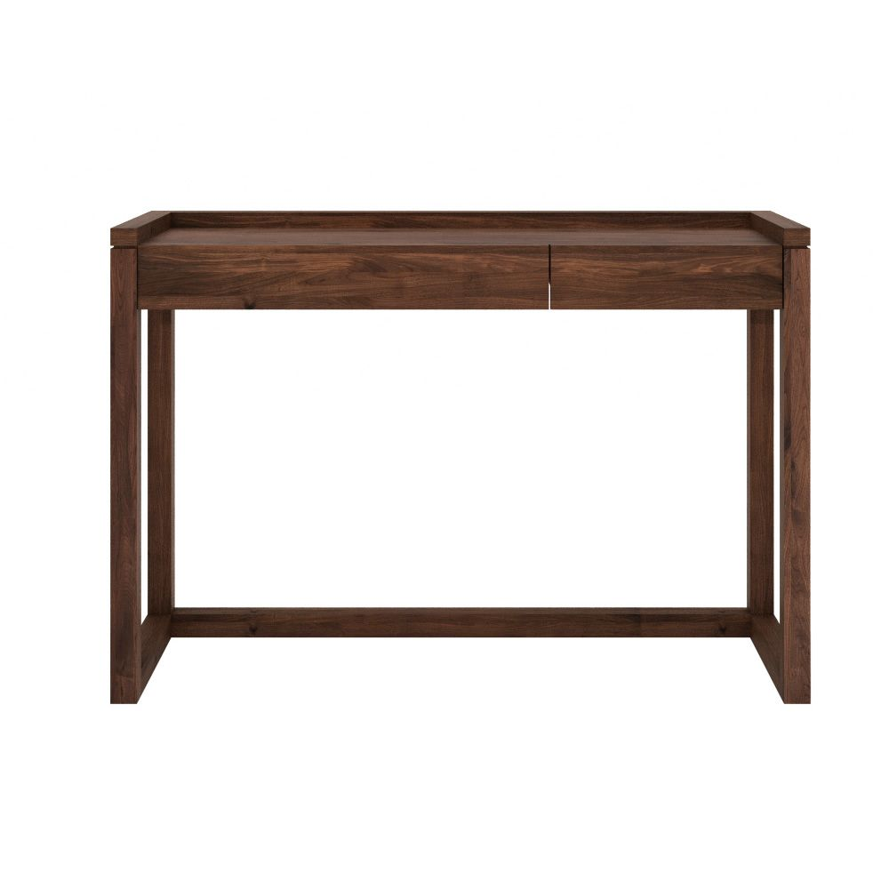 Frame w consolle ethnicraft in legno con 2 cassetti for Consolle con cassetti