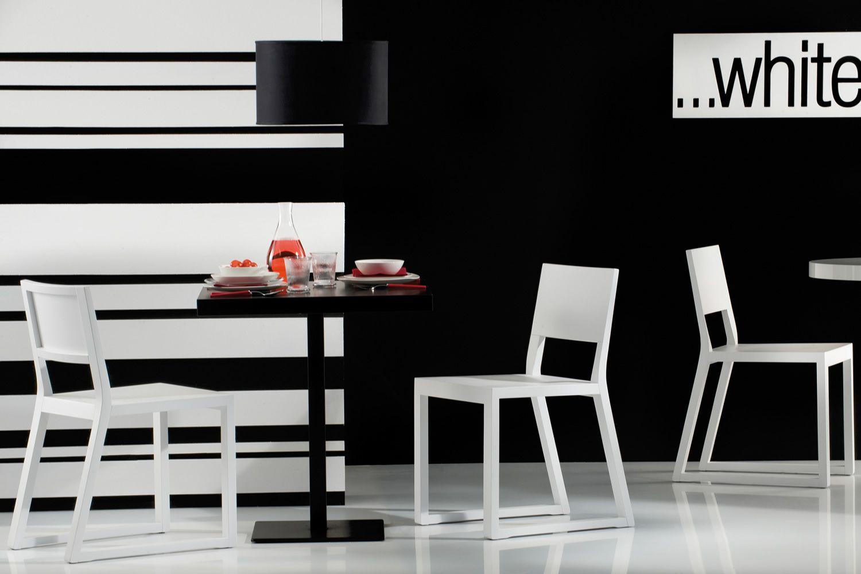 Feel 450 sedia pedrali di design in legno di rovere for Sedia design bianca