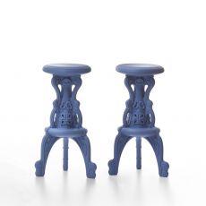 Mister of Love - Sgabello in polietilene, diversi colori, anche per esterno, altezza seduta 75 cm