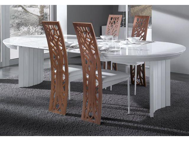 Anversa tavolo design idealsedia piano tondo diametro 133 cm allungabile sediarreda - Tavolo tondo allungabile ikea ...