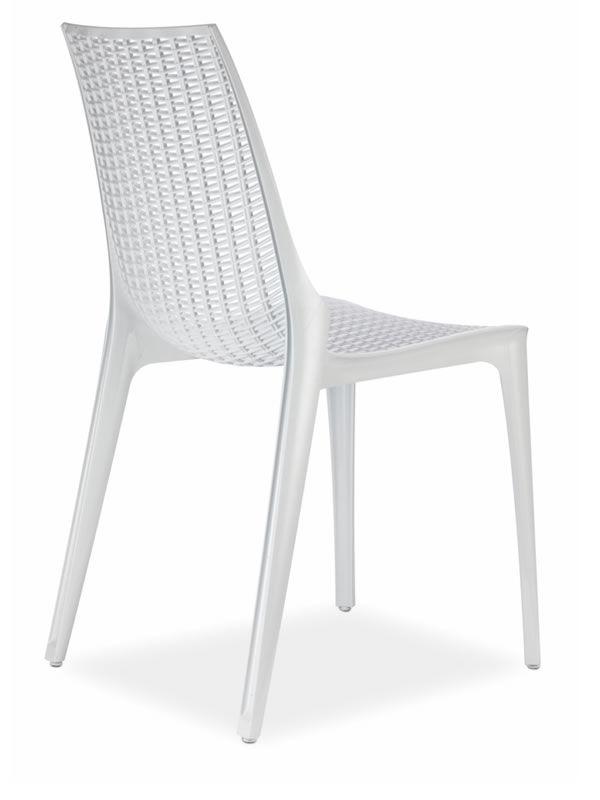 Tricot 2651 silla moderna de policarbonato con o sin - Sillas de policarbonato ...