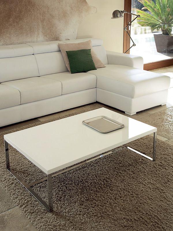 sushi c table basse rectangulaire domitalia en m tal. Black Bedroom Furniture Sets. Home Design Ideas