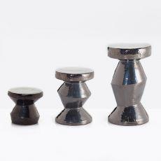 InOut 47-48-49 - Tavolino-Pouf Gervasoni, in ceramica, anche per giardino