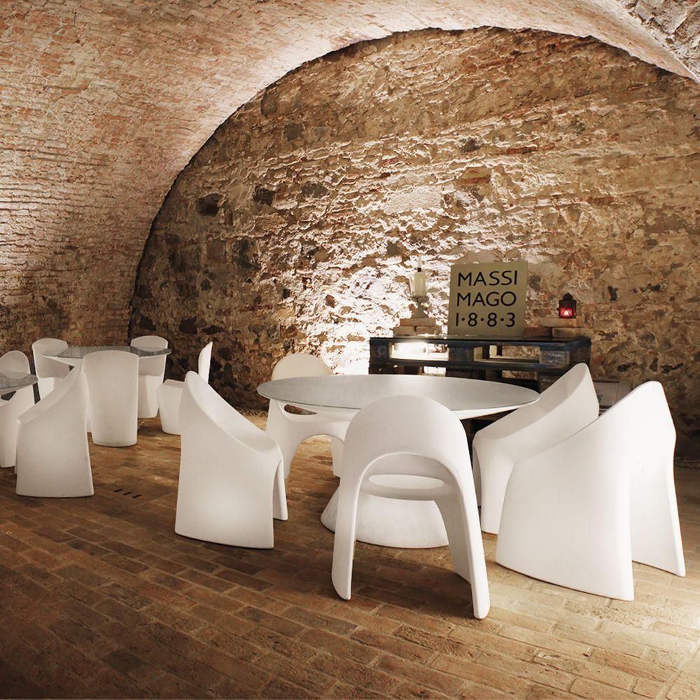 Am lie per bar e ristoranti sedia in polietilene for Sedia design of love