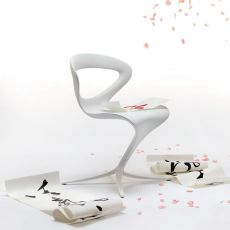 Callita - Sedia di design Infiniti in poliuretano, diversi colori