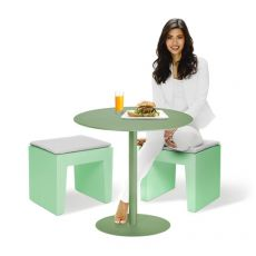 Concrete Seat - Fatboy stool in polyethylene, in different colours, also for garden