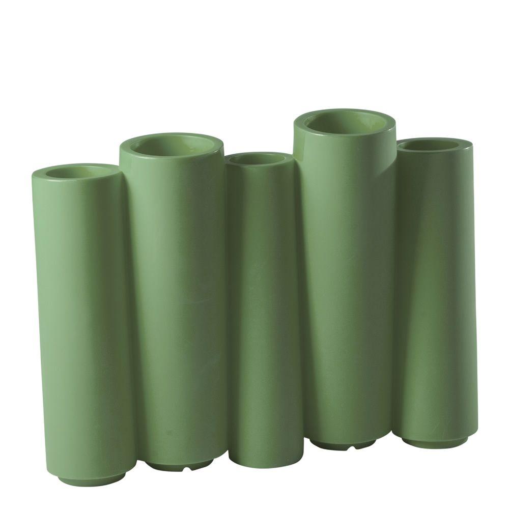bamboo vase slide aus polyethylen auch mit beleutchtung und f r garten sediarreda. Black Bedroom Furniture Sets. Home Design Ideas