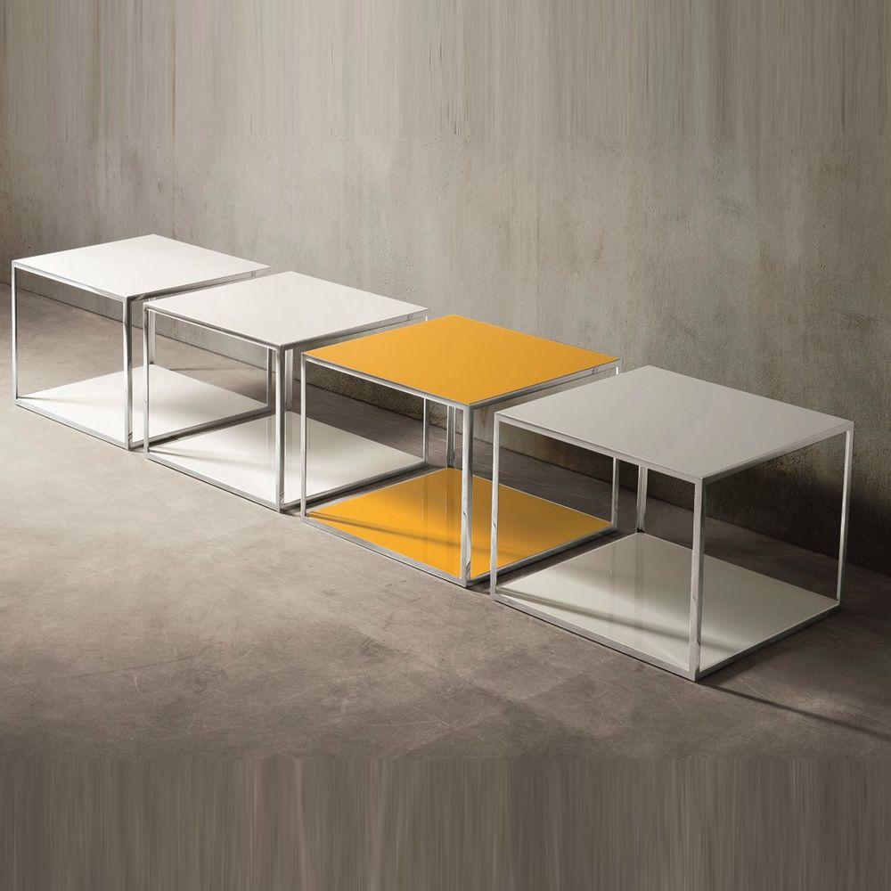 pitagora viereckiger beistelltisch dall 39 agnese aus metall. Black Bedroom Furniture Sets. Home Design Ideas