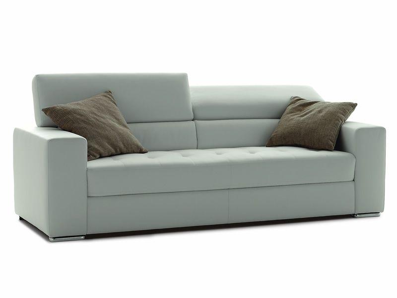 dec canap 2 ou 3 places avec appui t te inclinable rev tement en simili cuir ou cuir. Black Bedroom Furniture Sets. Home Design Ideas
