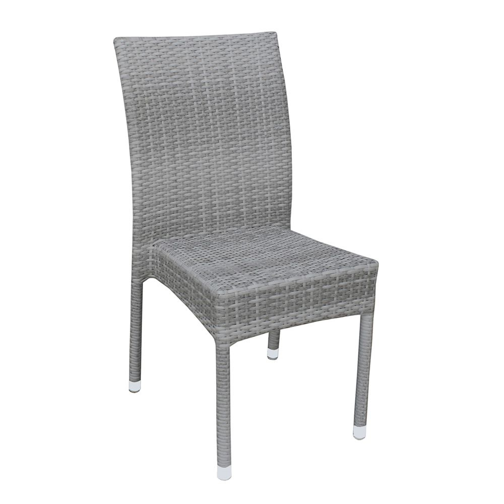 A80e sedia per giardino in alluminio e simil rattan for Sedie in alluminio