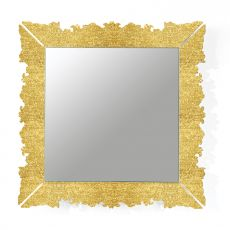 Novecento Q - Colico Design mirror, square 90x90 cm, made of methacrylate, available in different colours