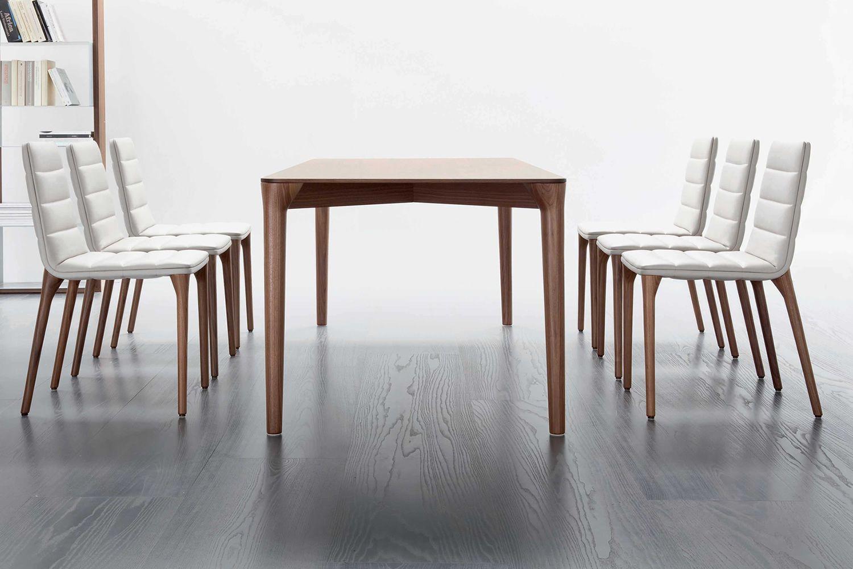 Pit t tavolo di design tonon in legno di varie finiture - Tavolo in legno design ...