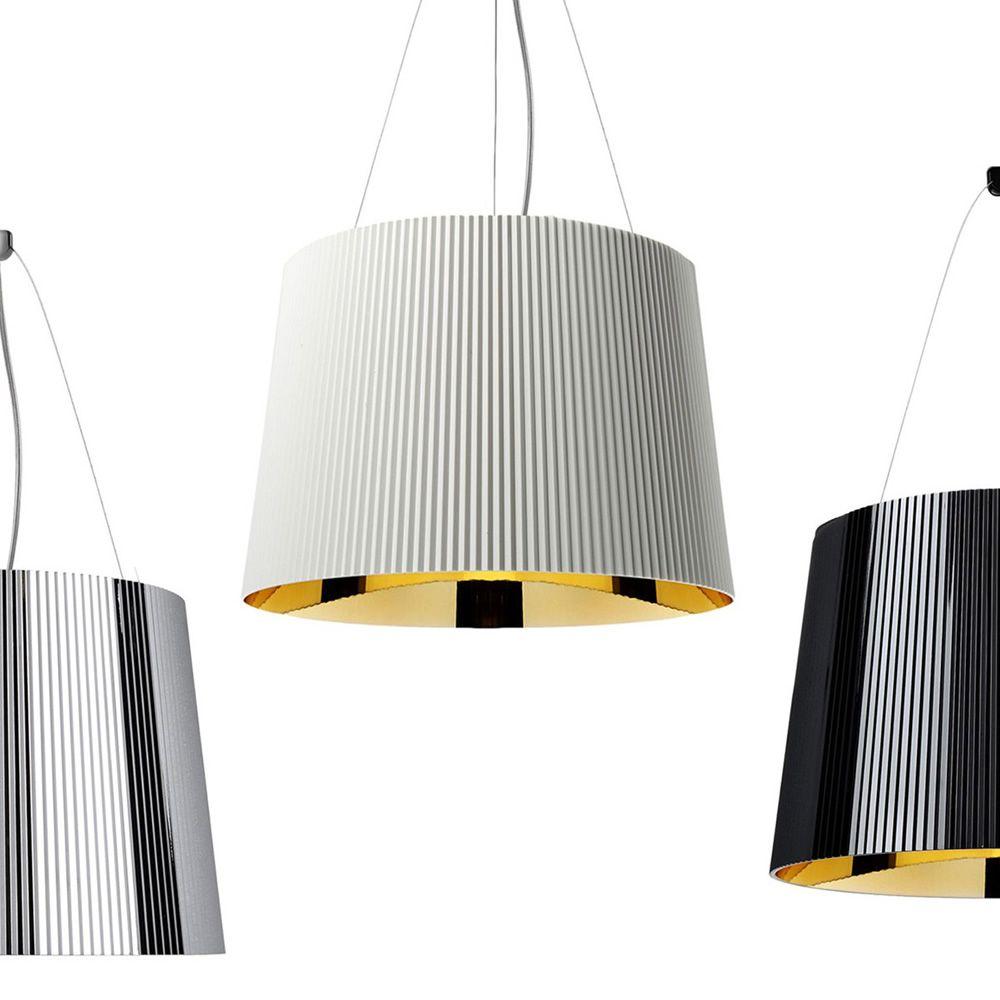 g lampe suspension kartell en polycarbonate en. Black Bedroom Furniture Sets. Home Design Ideas