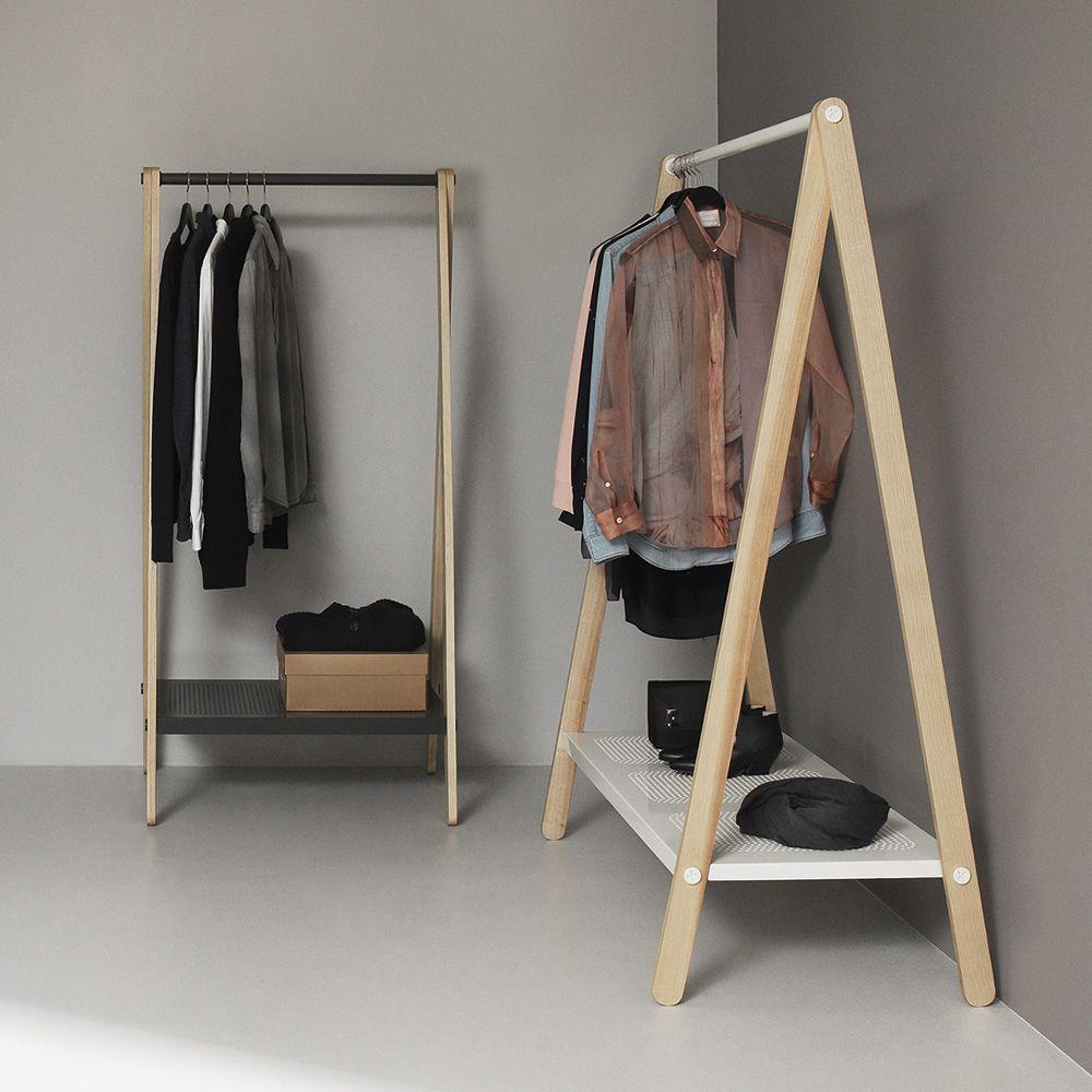 toj normann copenhagen clothes rack made of wood and. Black Bedroom Furniture Sets. Home Design Ideas