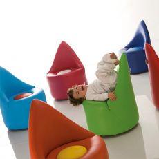 Op Baby - Sillón de diseño Adrenalina, para niños