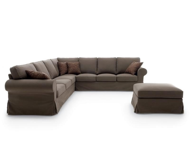 Alba corner divano classico ad angolo 287x287 cm - Divano profondita 75 ...