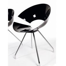 Diva - Sedia design di Colico in acciaio, diverse sedute e diversi colori