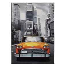 Artemisia Times Square - Modern carpet with printed image