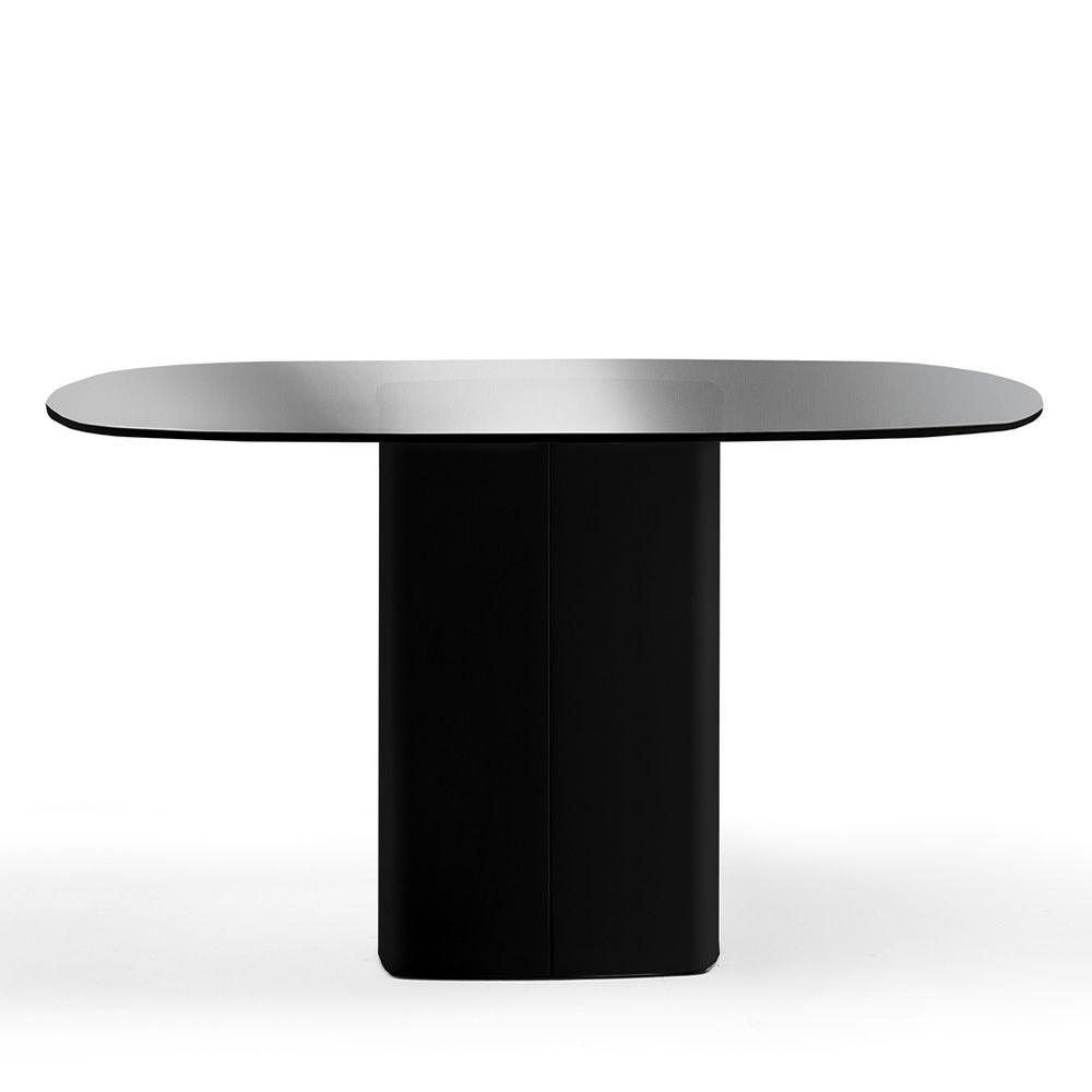 Aeroq tavolo fisso pedrali in metallo piano in for Tavolo di design in metallo