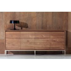 Essential - Ethnicraft wooden sideboard, metal legs, different sizes available