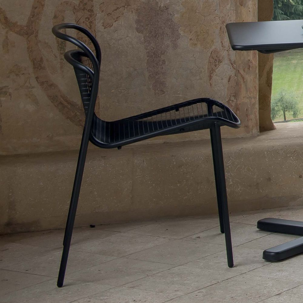 Modern 634: Emu chair made of metal, stackable, also for garden ...
