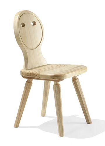 TC05 BABY | Sedia in legno di abete per bambino