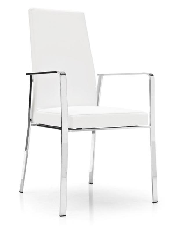 cs1379 bess calligaris metallsessel mit kunststoffbezug verschiedenen farben sediarreda. Black Bedroom Furniture Sets. Home Design Ideas