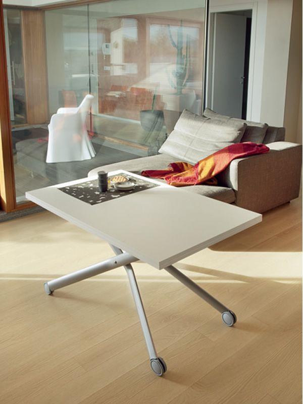 esprit tisch domitalia aus metall mit melaminplatte 110. Black Bedroom Furniture Sets. Home Design Ideas