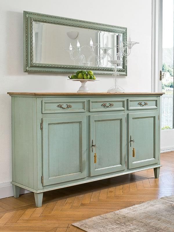 altair 4961 miroir rectangulaire tonin casa avec cadre classique en bois en diff rentes. Black Bedroom Furniture Sets. Home Design Ideas
