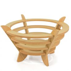 Fruct-o - Modern fruit bowl made of wood