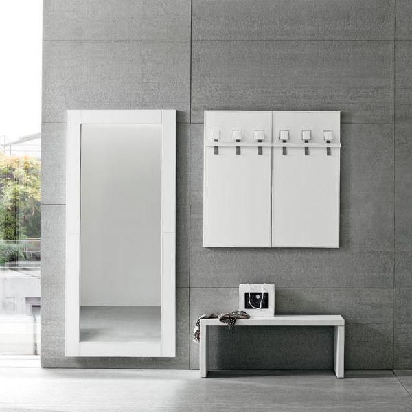 Cinquanta 04 composition de meubles d 39 entr e en simili cuir diff rentes couleurs sediarreda - Mobili per entrata casa ...