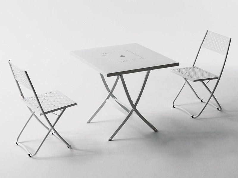 Rig27 chaise en m tal pliante en diff rentes couleurs for Chaise pour bronzer