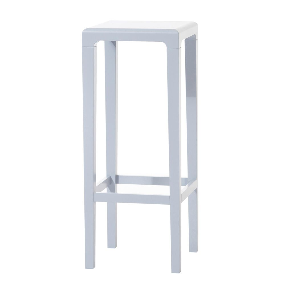 Rioja f ton wooden stool seat at 64 or 80 cm for Barhocker taupe