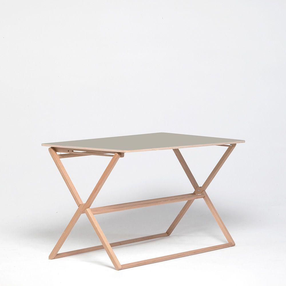 treee desk designer schreibtisch klappbarer tischplatte. Black Bedroom Furniture Sets. Home Design Ideas