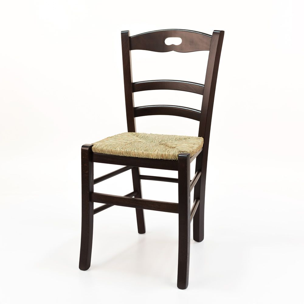 sedia calligaris con seduta in paglia del 2000