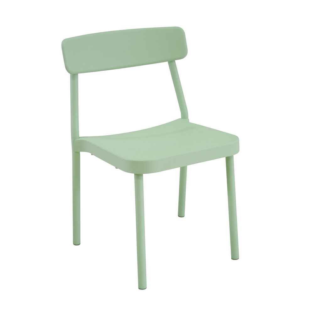 ... Grace   Stackable Chair In Mint Green Colour ...