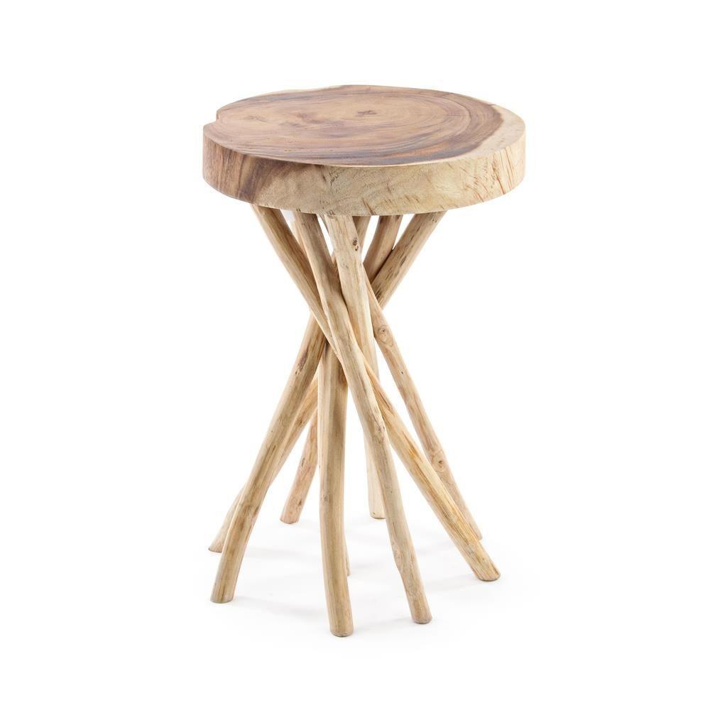 Algeri Table basse design en bois naturel, disponibles en différentes taille