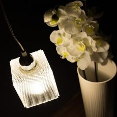 Didodado - Suspension lamp with metacrylate lampshade, several colours