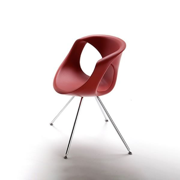 Charming Up Chair   Modern Chair With Metal Structure And Polyrethane Seat By Tonon Amazing Ideas