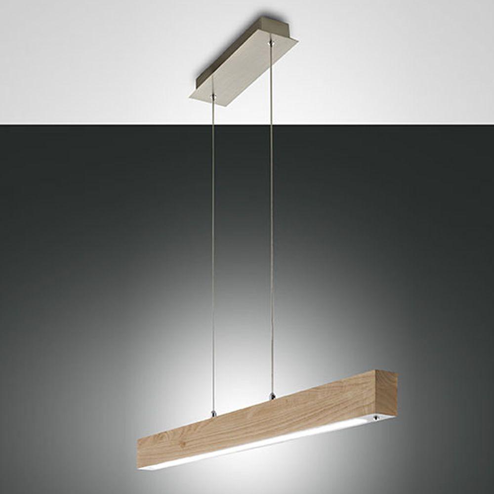 fa3383ls pendellampe aus metall und eichenholz led beleuchtung sediarreda. Black Bedroom Furniture Sets. Home Design Ideas