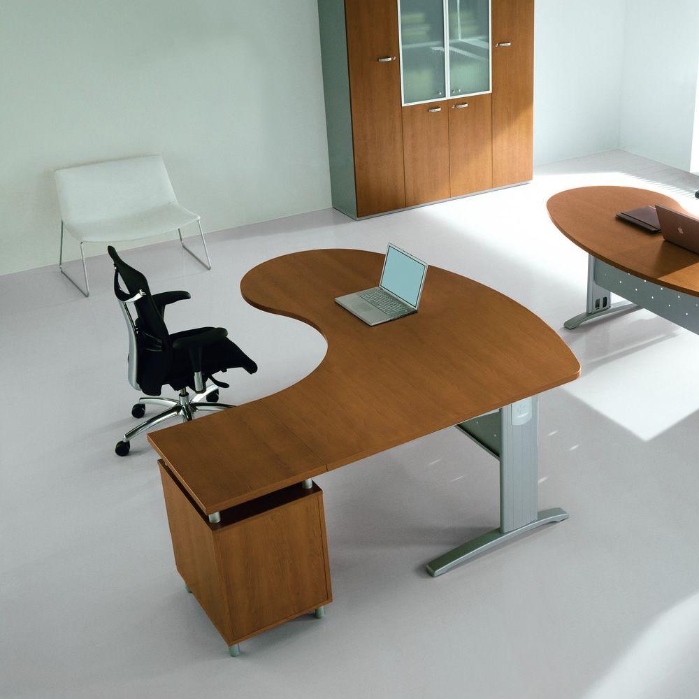 Idea sy 01 scrivania per computer idesy01 ciliegio - Scrivanie usate per ufficio ...
