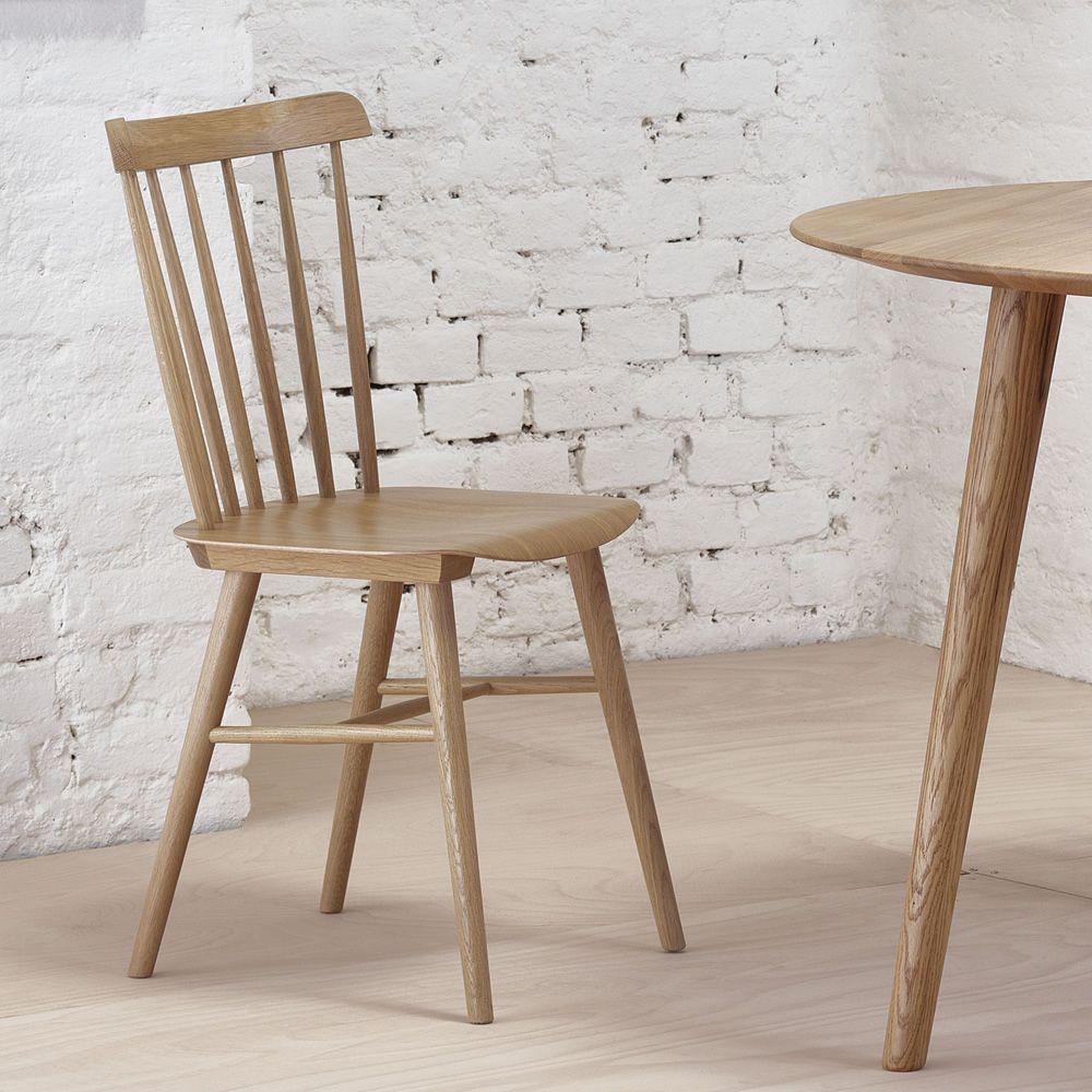 Ironica   Designer Stuhl Aus Holz In Der Ausführung Eiche Geölt