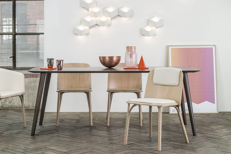 Split sedia ton in legno seduta in legno o imbottita sediarreda - Sedie design legno ...